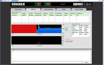 "BRIC-Link II browser interface ""Network Monitoring"""