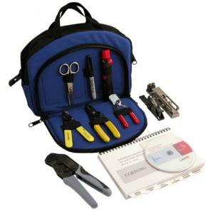 V-6202: Easy-to-use Fibre Optic Cable Termination Kit