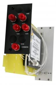 V-6400 CWDM Series: 4-, 8- or 16-way Passive Optical Coarse Wave Division Multiplexer
