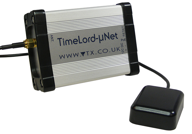 TimeLord-µNet w/ GPS